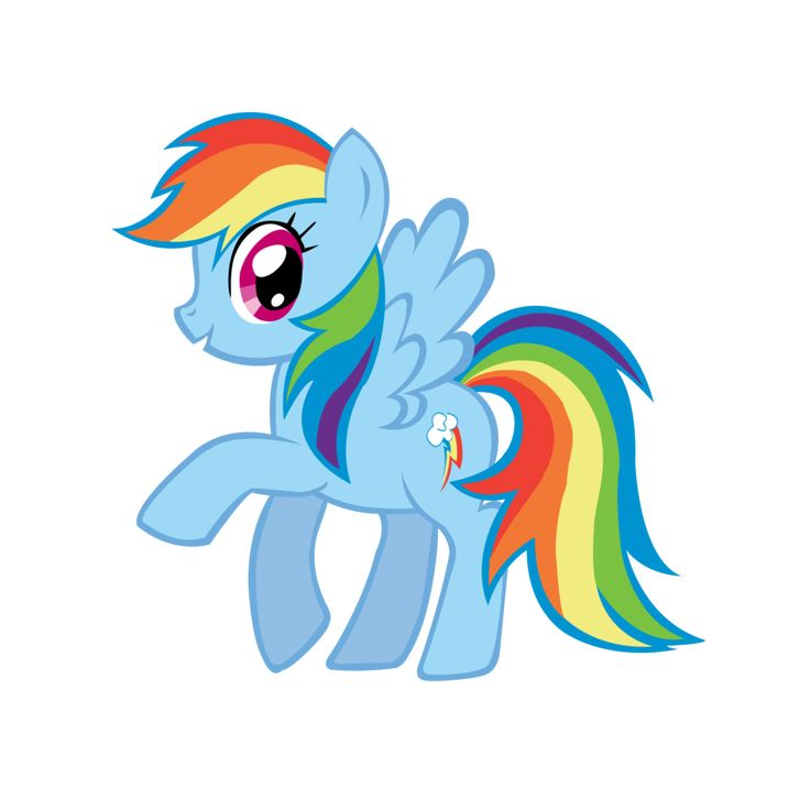 My little clipart. Sweet happy pony best