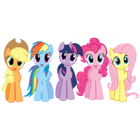 My little clipart. Download pony free png