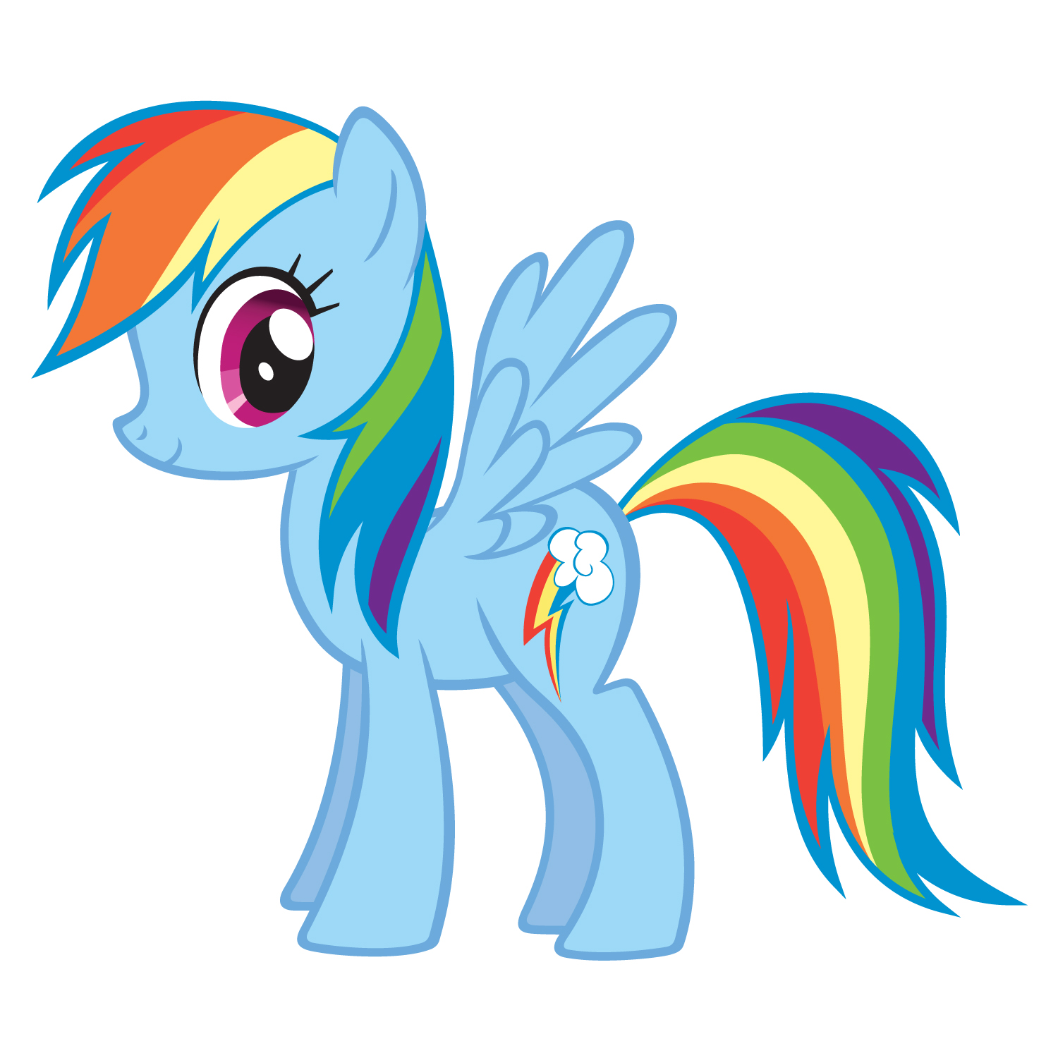 My little clipart cartoon. Cute pony at getdrawings