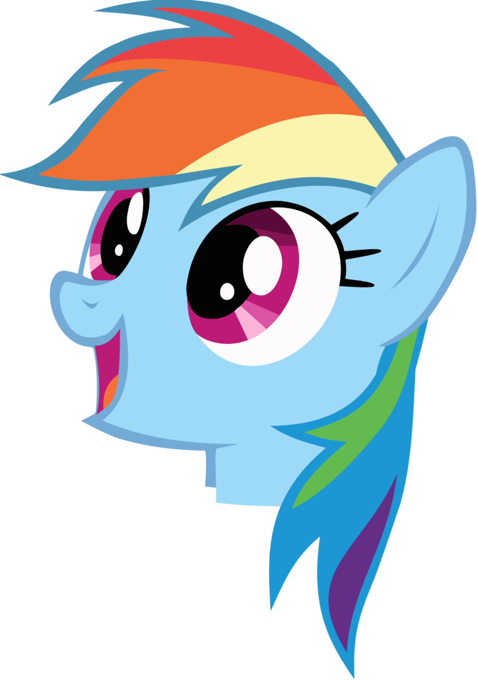 My little clipart head. Image pony friendship is