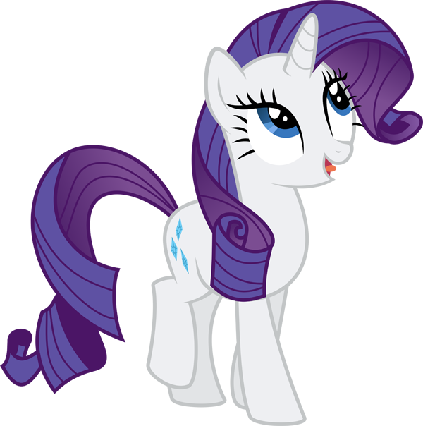 My little clipart rarity. Pony png mart