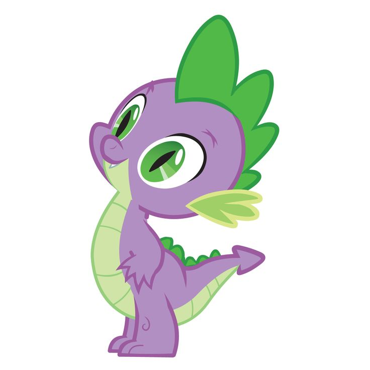 My little clipart spike. Best pony images