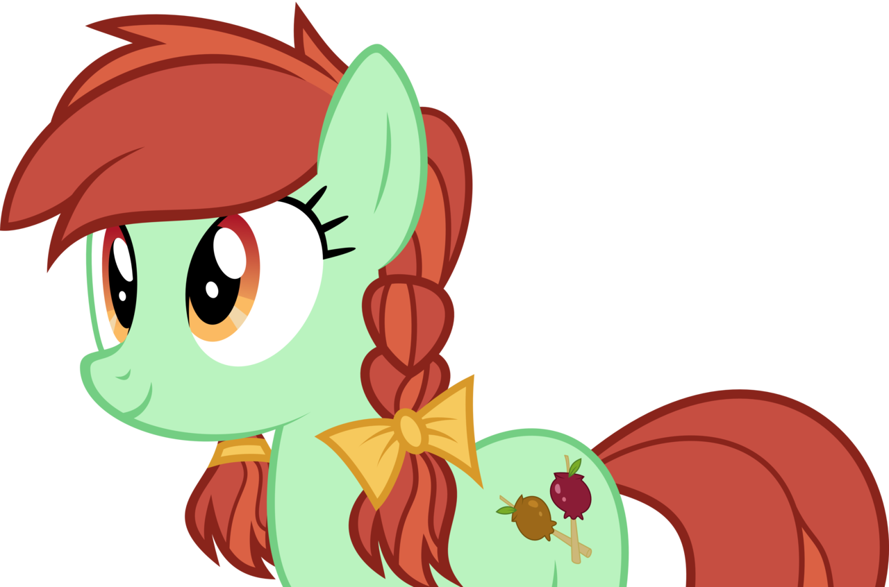Apples vector candy. Absurd res artist