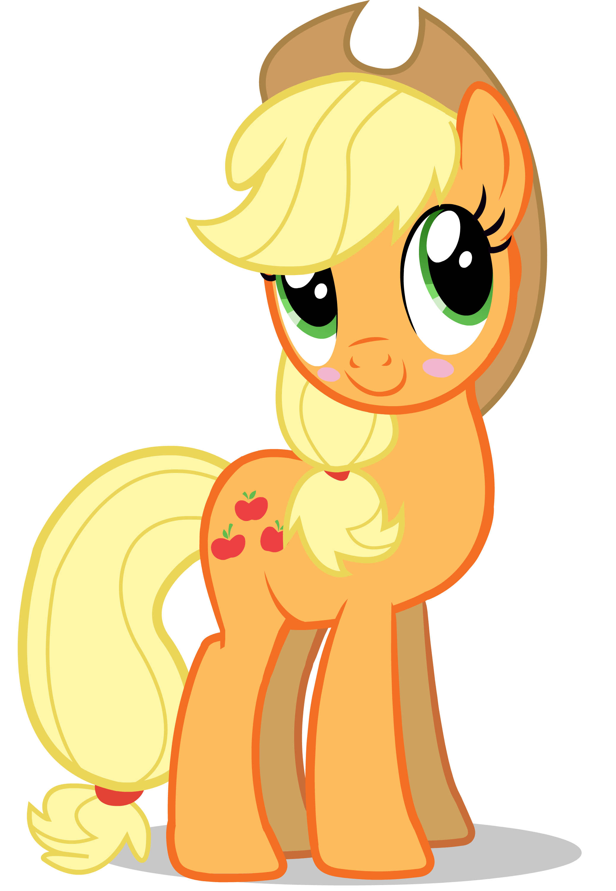 applejack drawing kid