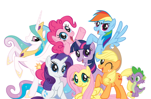 My little pony friendship is magic png. Image group shot wiki