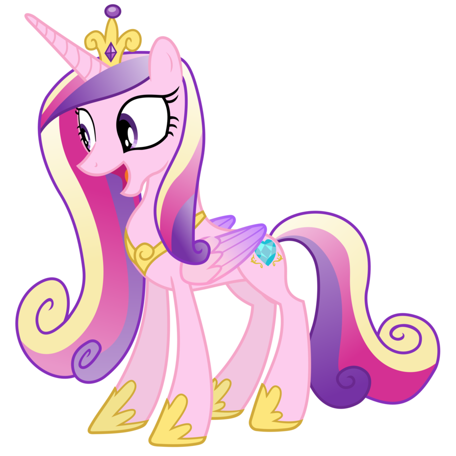 My little pony friendship is magic png. Image fanmade princess cadance