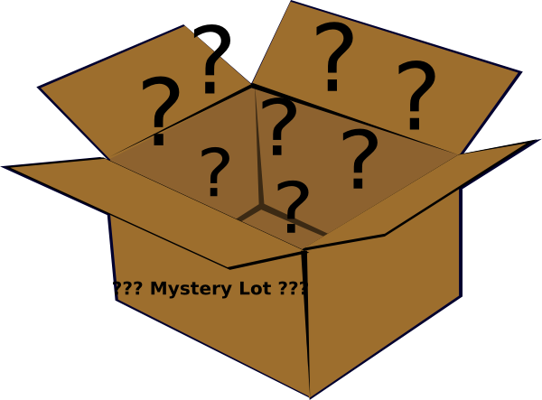Mystery clipart. Box clip art at