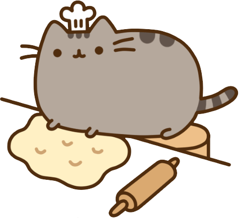 Pusheen computer png. Stickers gif sticker emoticon