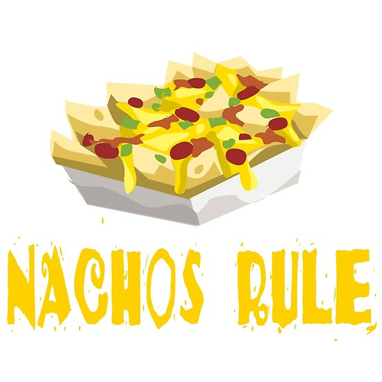 Nachos clipart movie. Rule posters by shirts