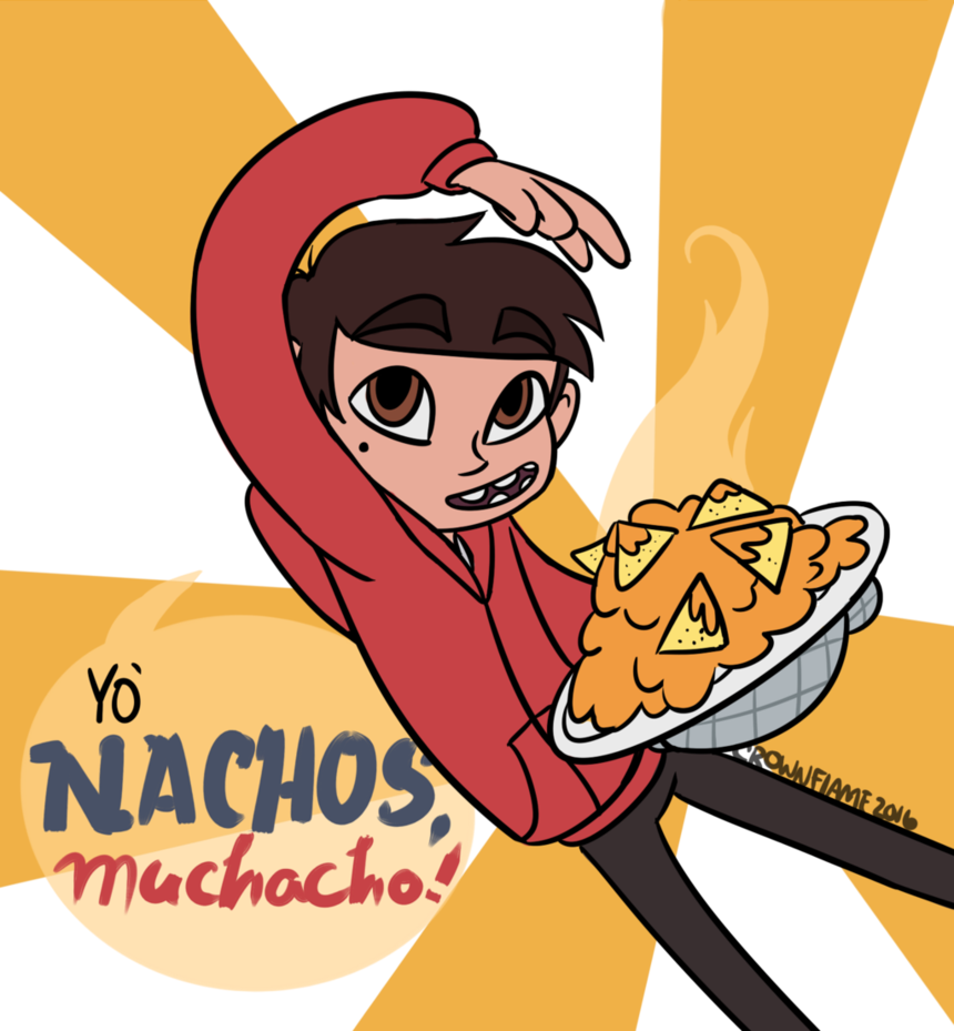 Nachos drawing cute. Png black and