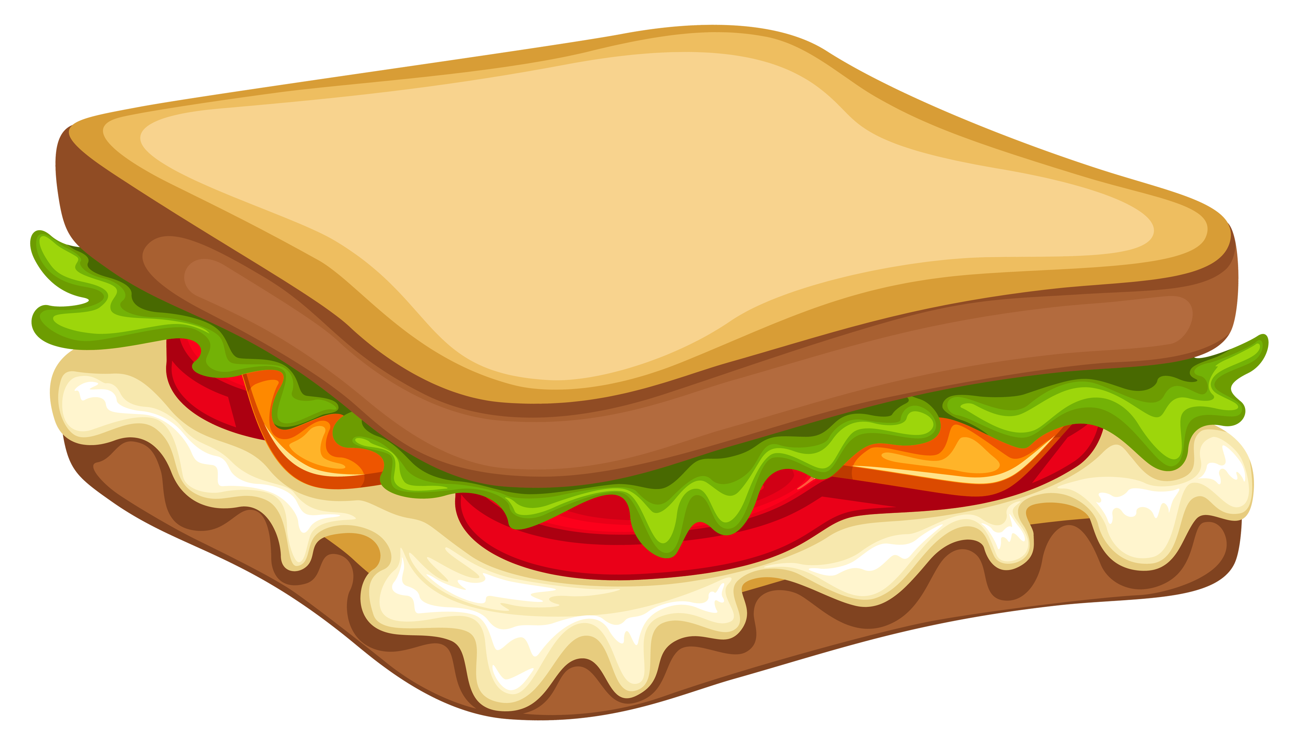 Vector sandwich triangle. Png clipart image gallery