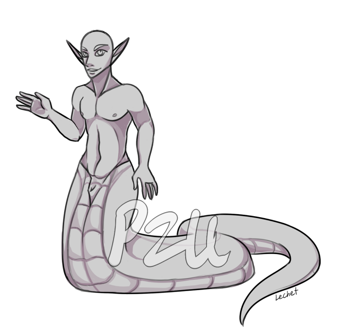 drawing guys naga