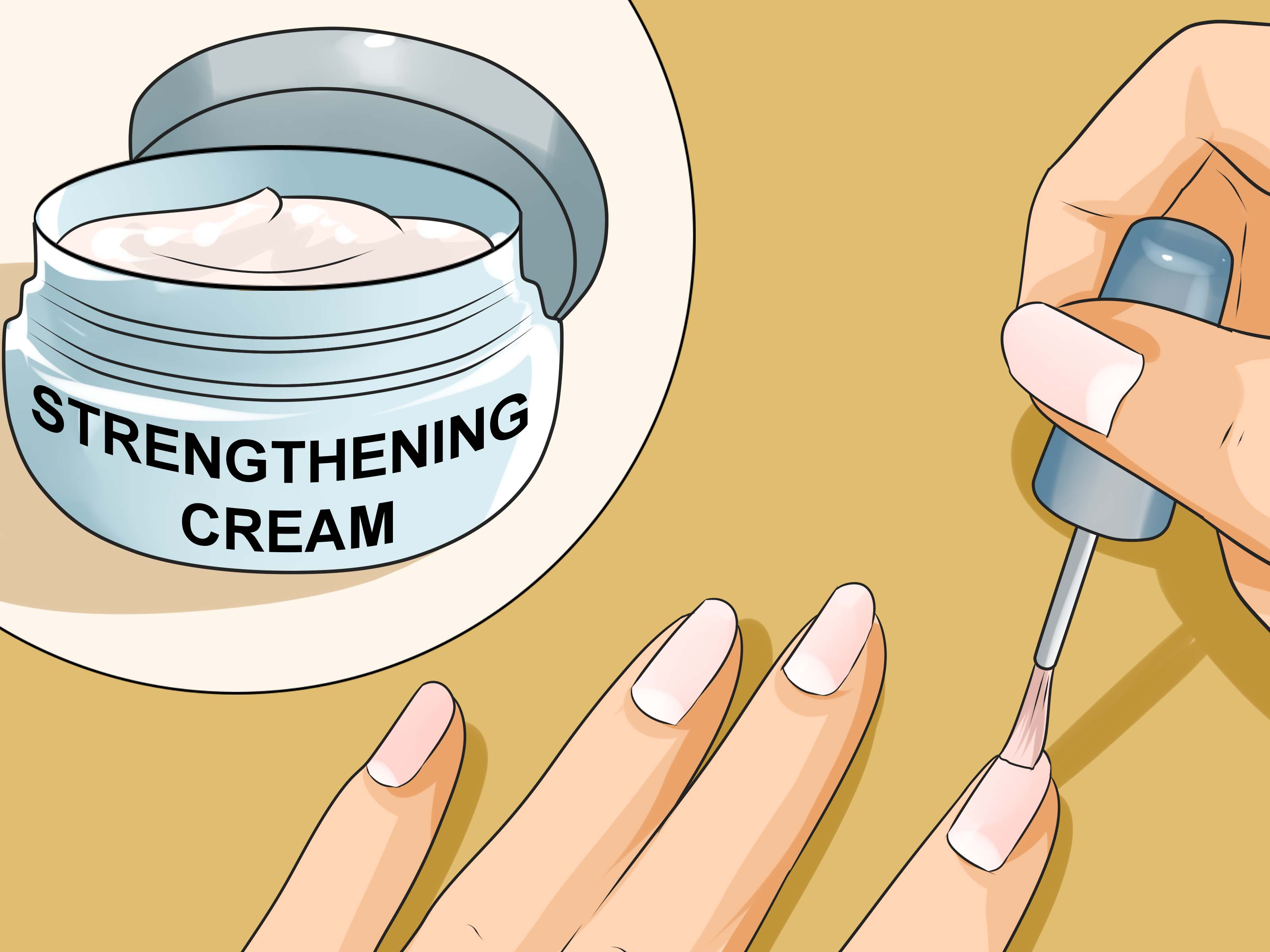 Nails clipart clean habit. How to grow long