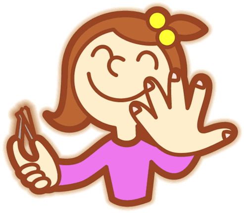 Nails clipart imprope hygiene. Personal in the kitchen