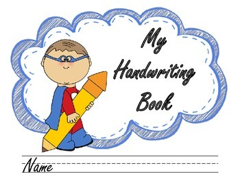 Name clipart handwriting. Book cover by briana