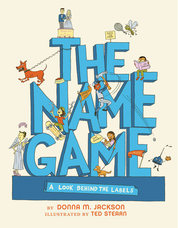 Name clipart name game. The by donna jackson