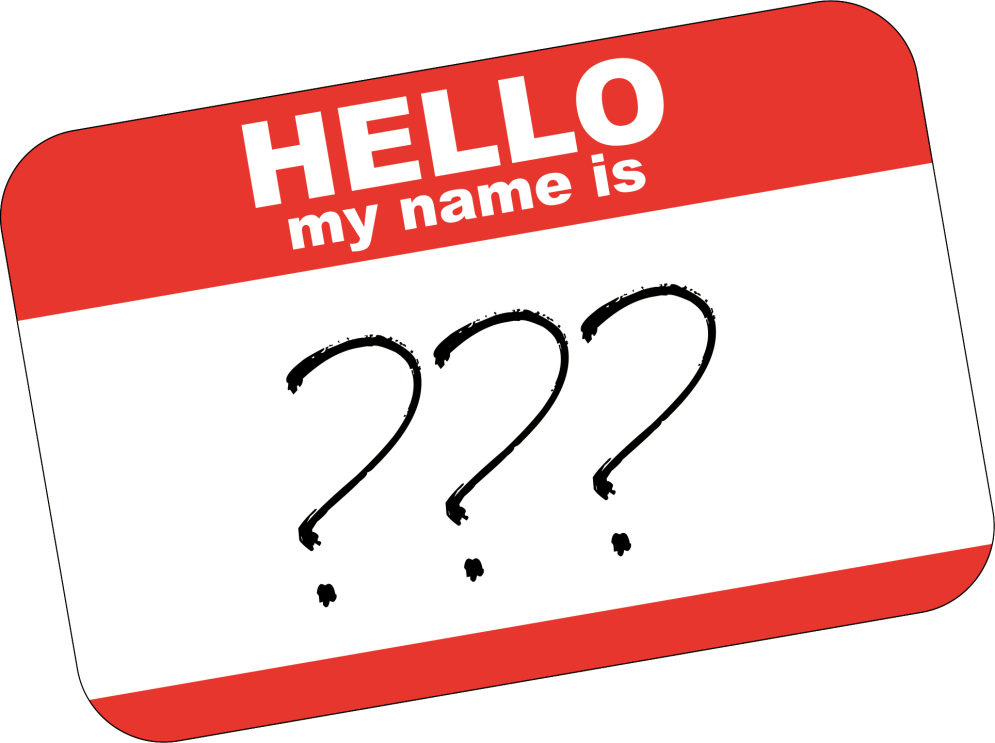 Name clipart transparent. Social media a candidate