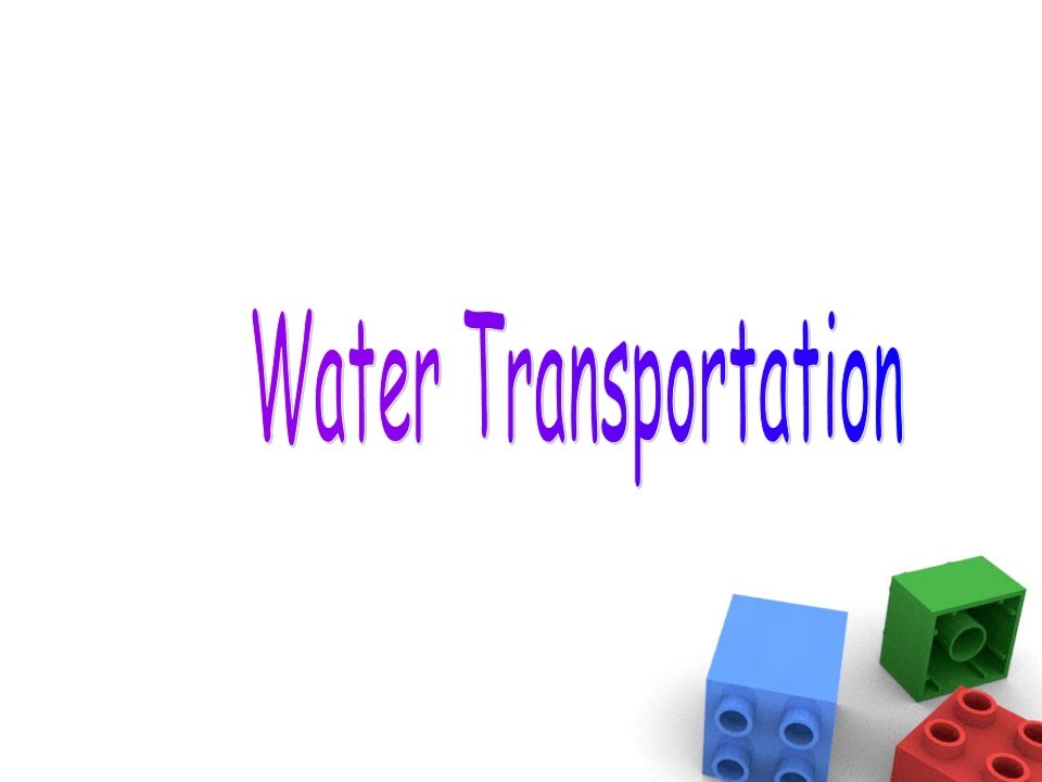 name clipart water transportation