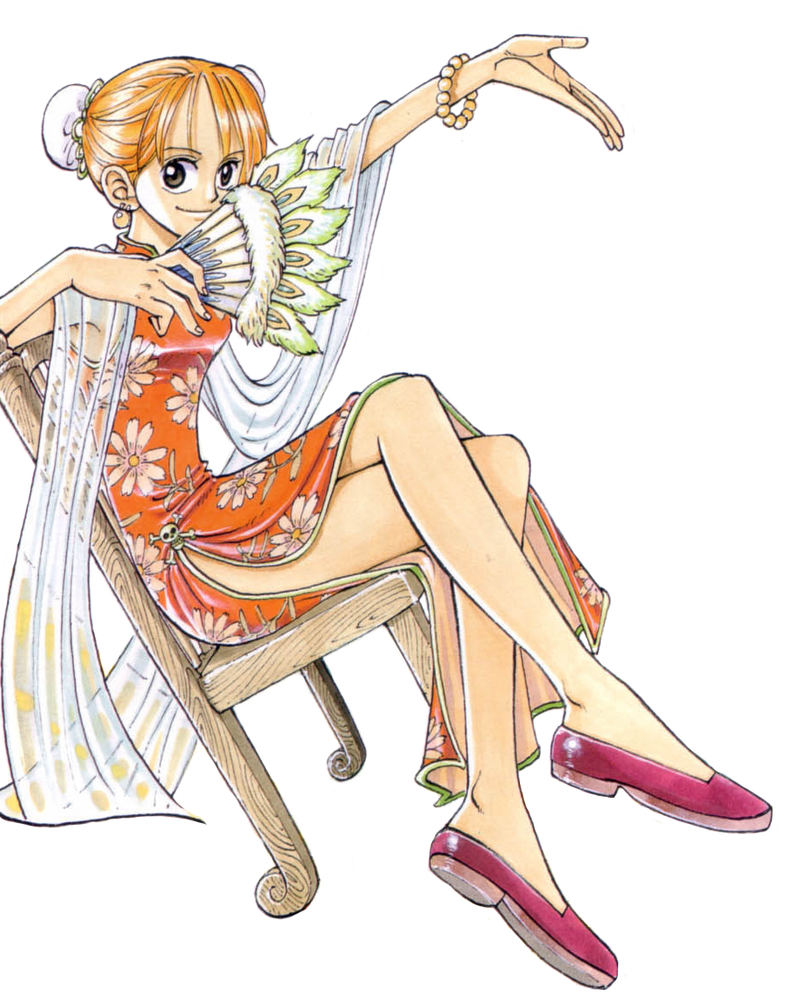 Nami transparent piece. Chapter by claudia cher