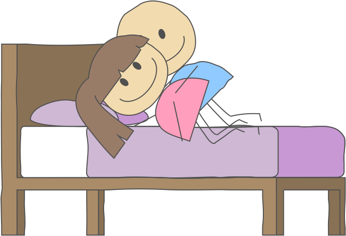 Nap clipart comfortable bed. Trouble sleeping after joint