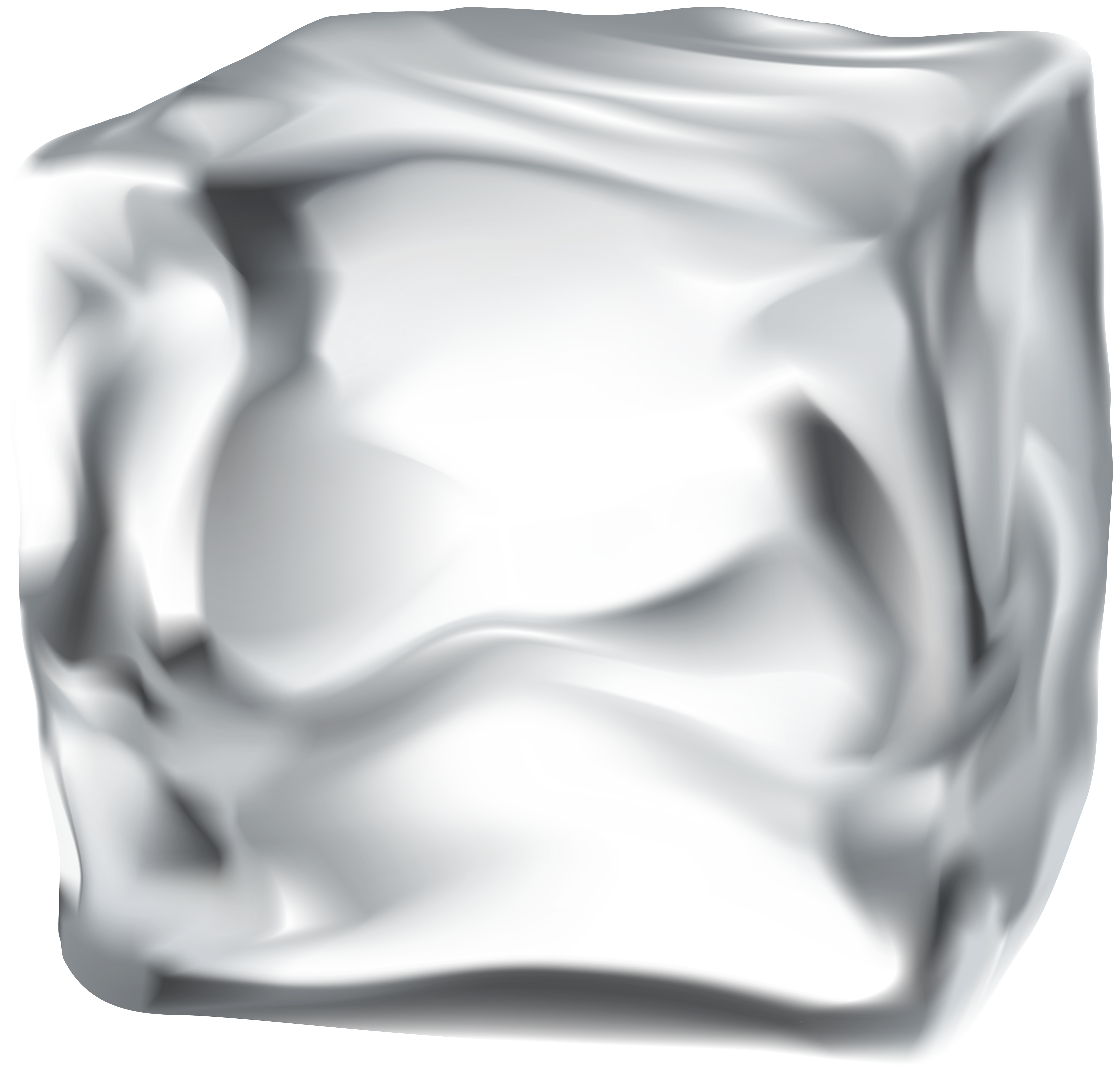 Cube clip holder. Ice png art image