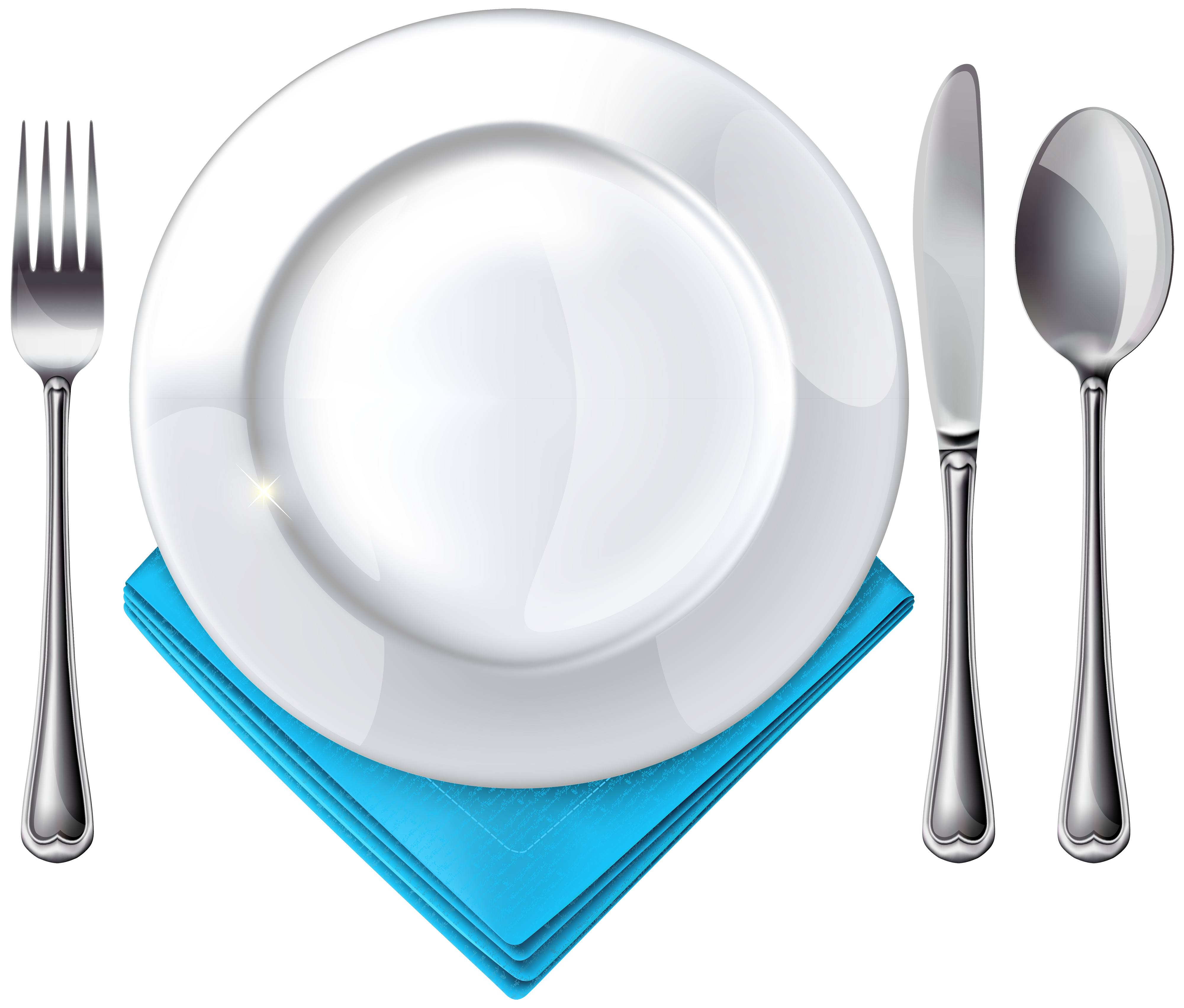 Plate emoji png. Spoon knife fork and