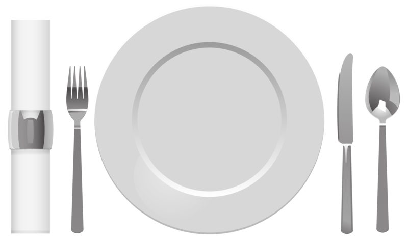Napkin vector plate fork spoon. Download free png table