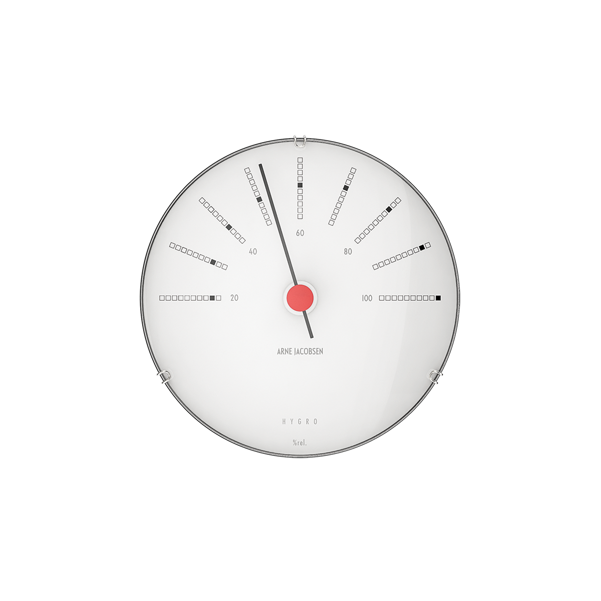 Napkin vector red and white. Arne jacobsen wall weather