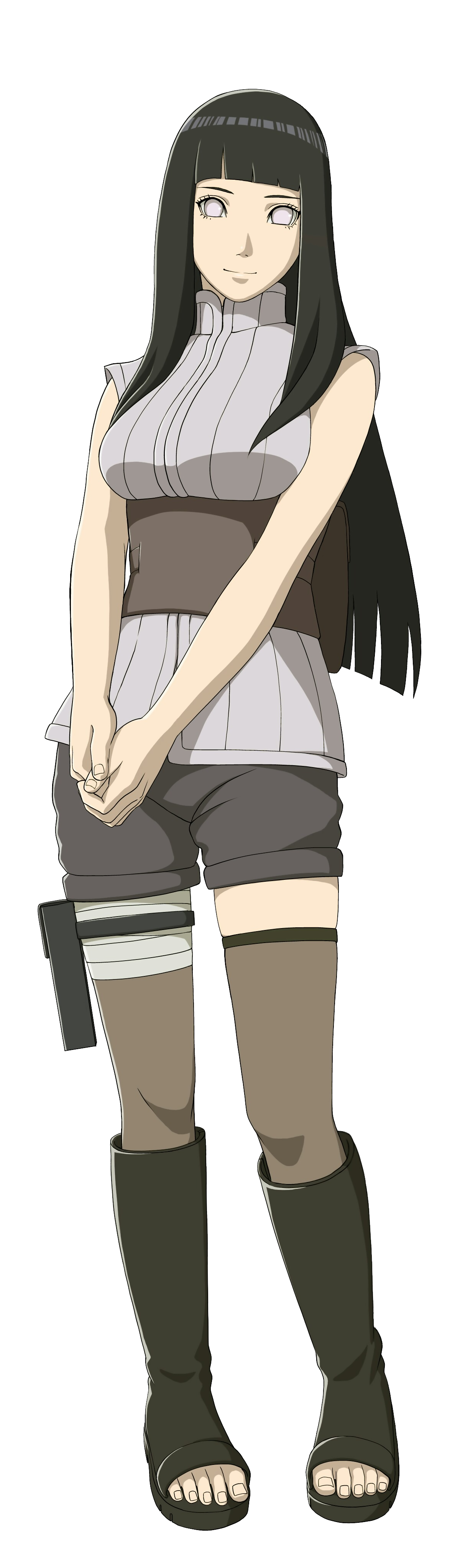 hinata transparent poses