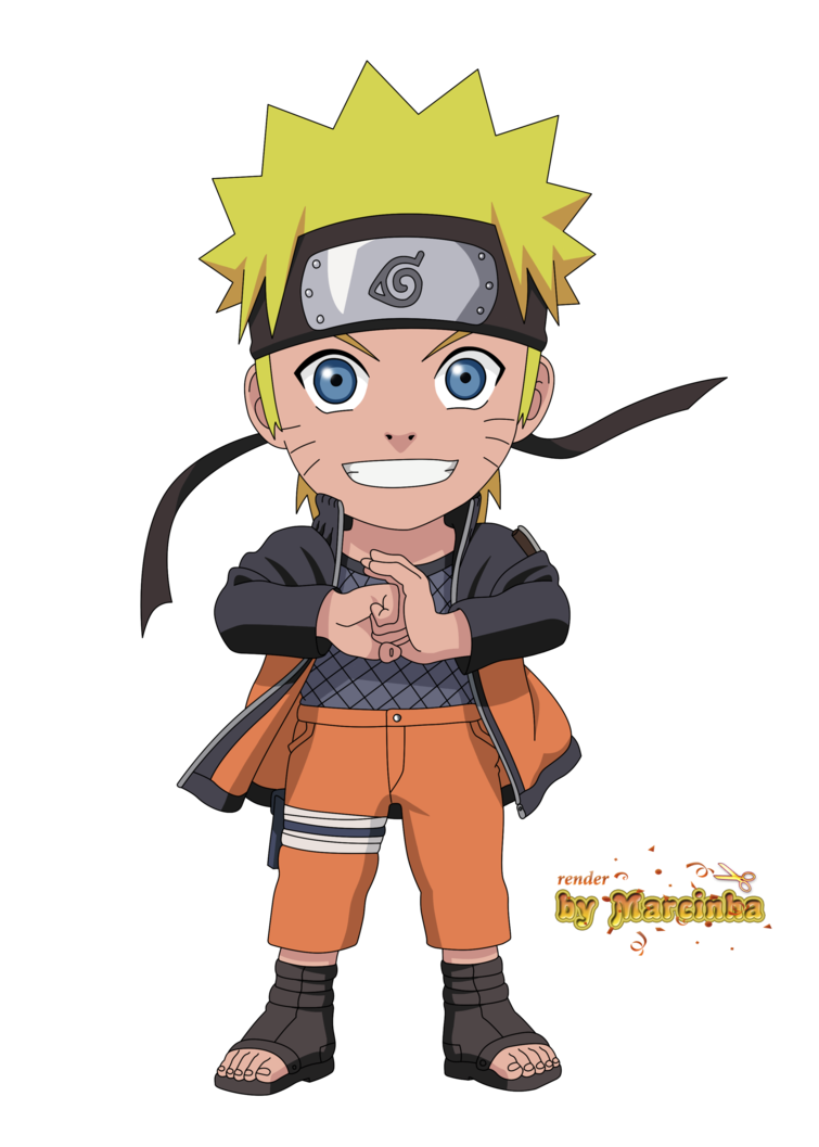 Naruto chibi png. Shippuden by marcinha on