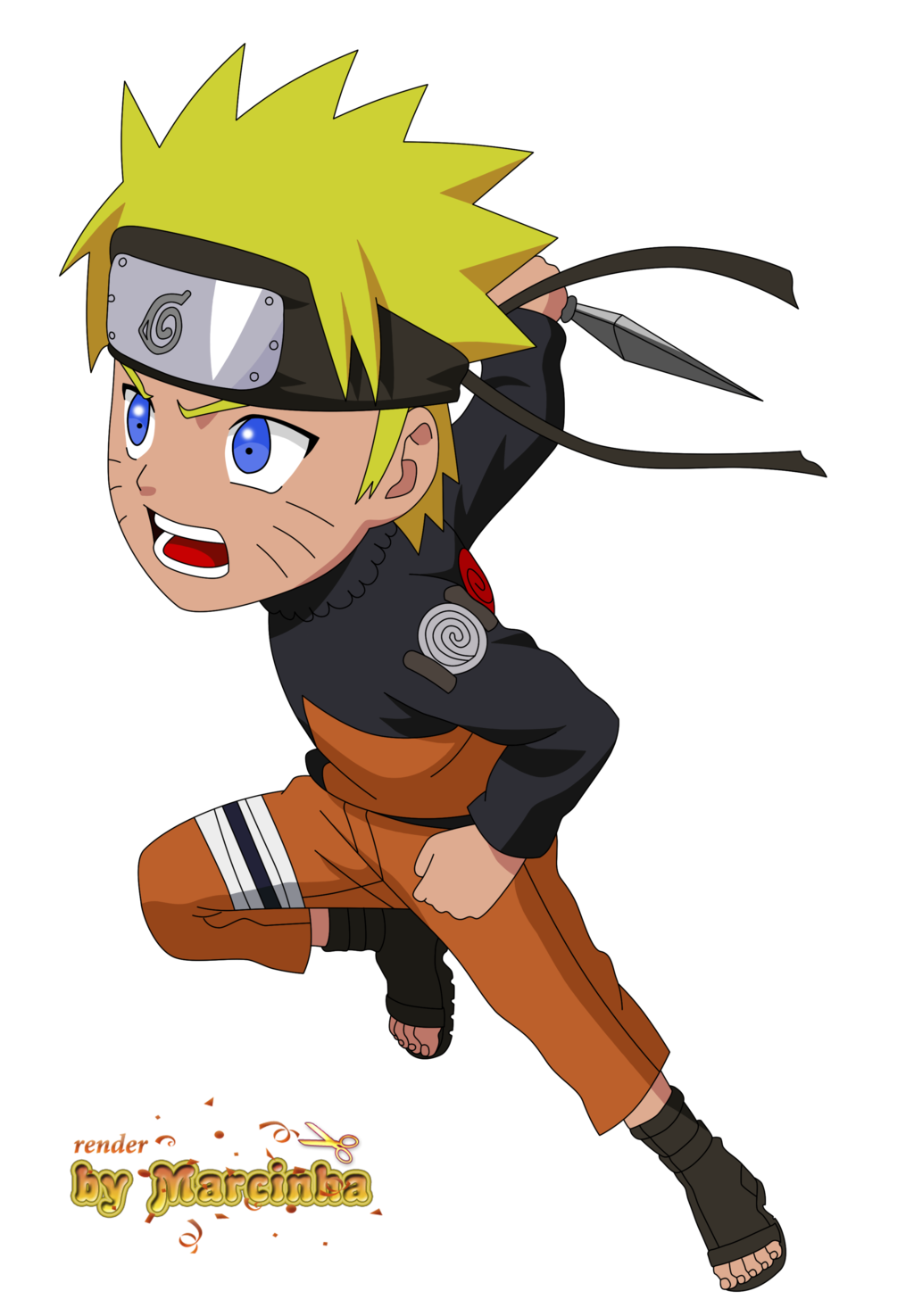 Naruto Characters Transparent & PNG Clipart Free Download YWD