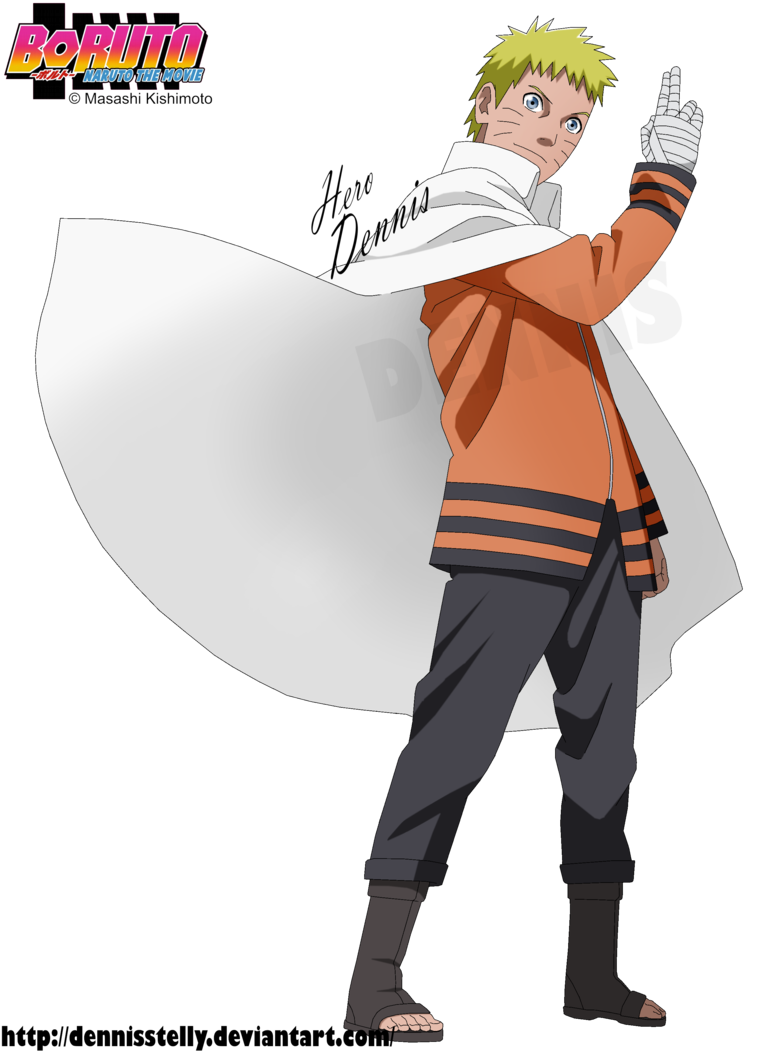 Naruto hokage png. The by dennisstelly on