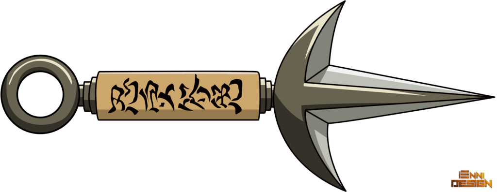 kunai drawing