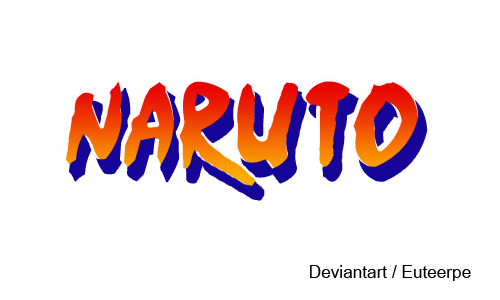 Naruto logo png. By euteerpe on deviantart