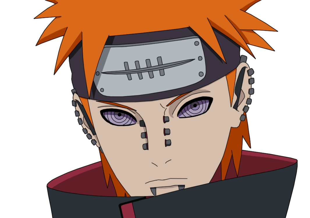 Naruto pain png. By lover on deviantart
