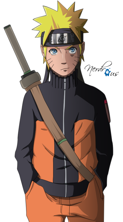 Naruto png hd. Image render by nerdr