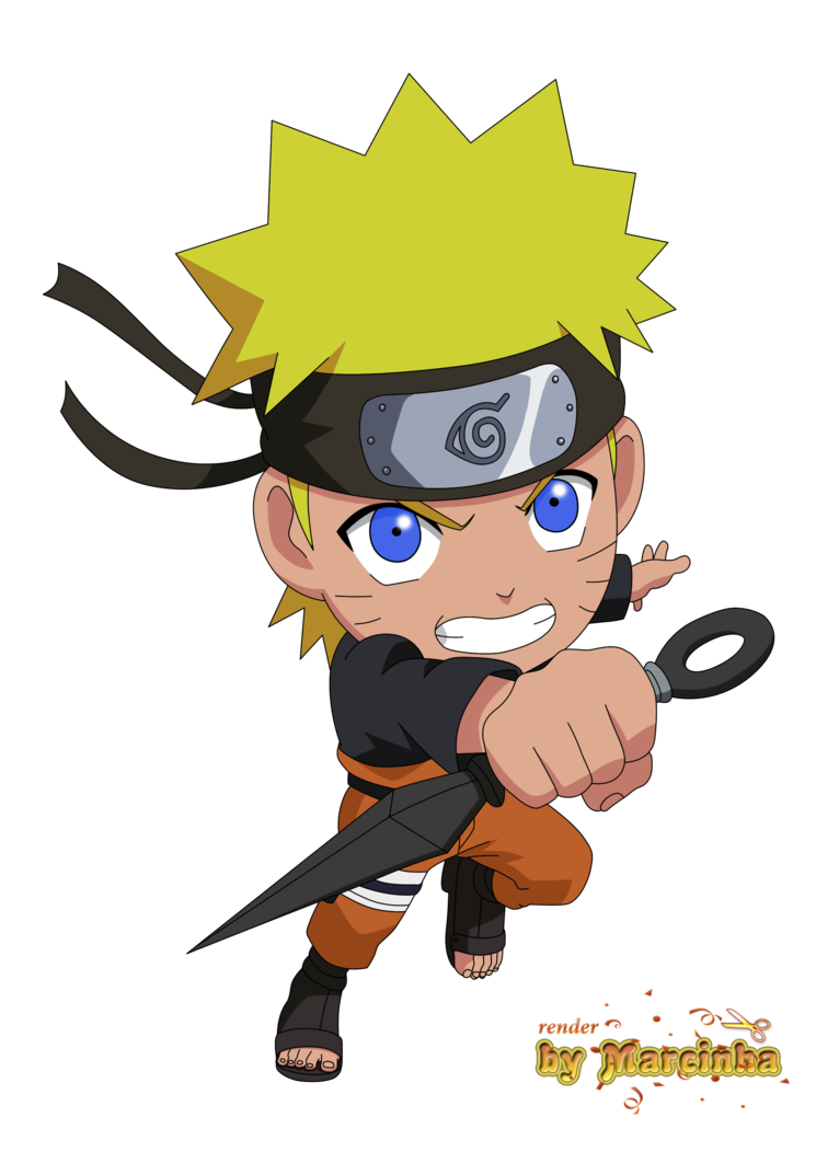 Naruto png images. Chibi shippuden by marcinha