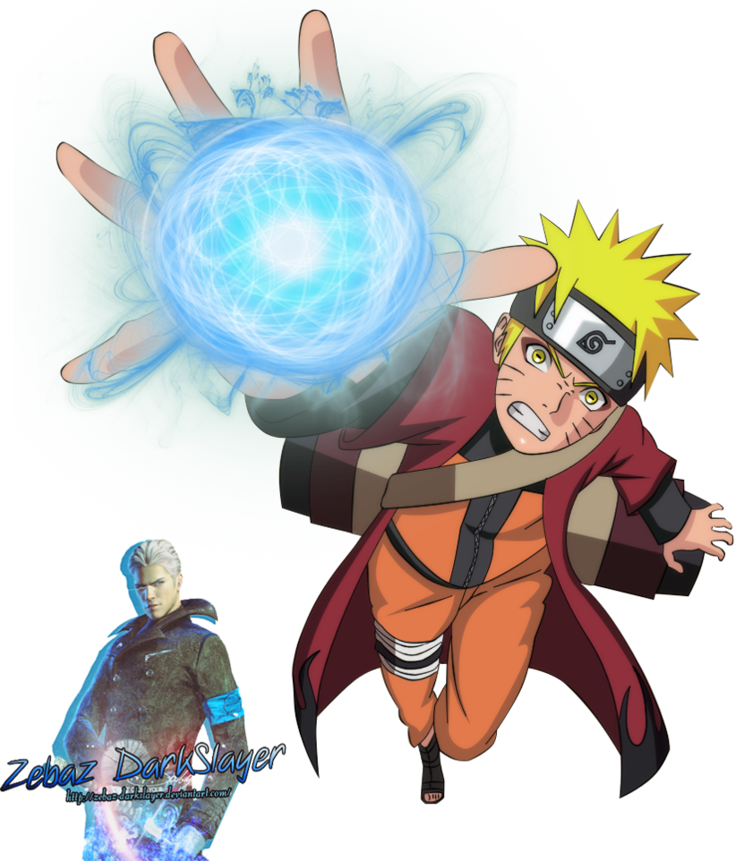 Naruto rasengan png. Render by zebaz darkslayer