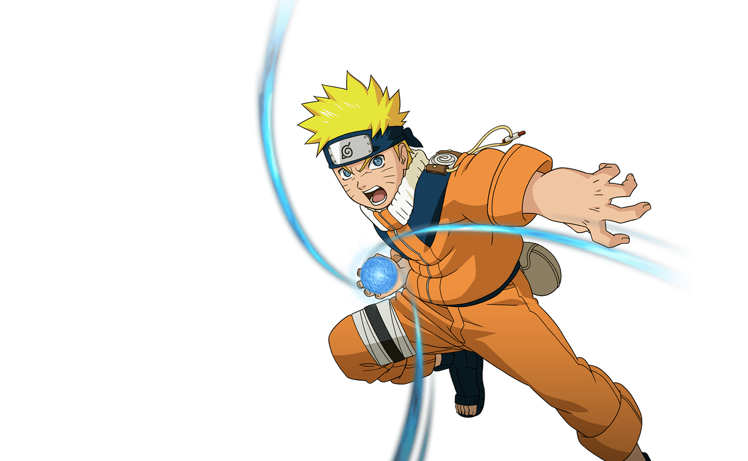 Naruto run png. Game played in the