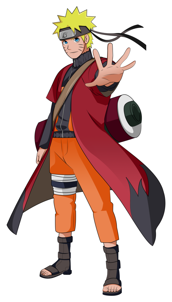 Naruto sage mode png. By guardianmo on deviantart