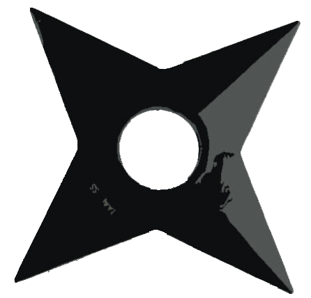 Naruto shuriken png. By hidan sama on