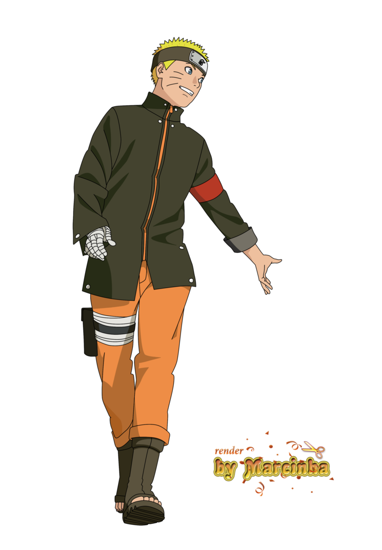 Naruto the last png. By marcinha on deviantart
