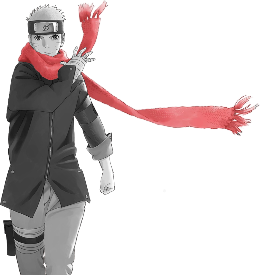 Naruto the last png. By meluchiha on deviantart