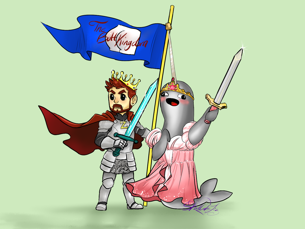 Narwhal clipart house owner ross. The butt knights mithzan