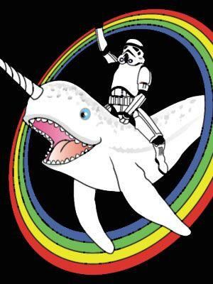 Narwhal clipart star wars. Darth vader on pinterest