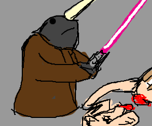 Narwhal clipart star wars. Starwals episode v the