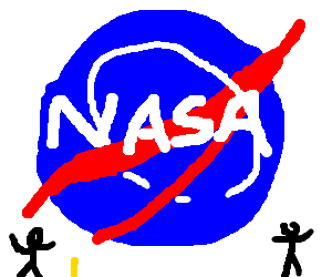 Nasa drawing. By luis drawception