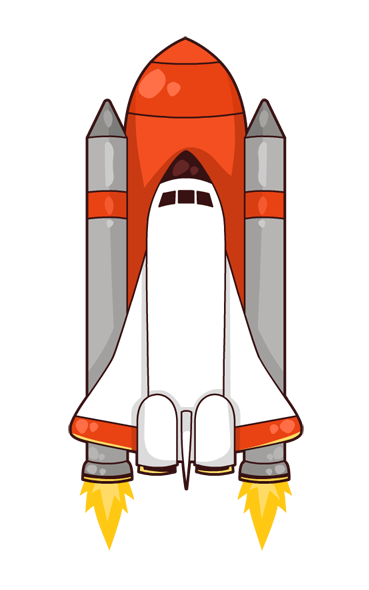 Nasa shuttle life off png. Collection of space
