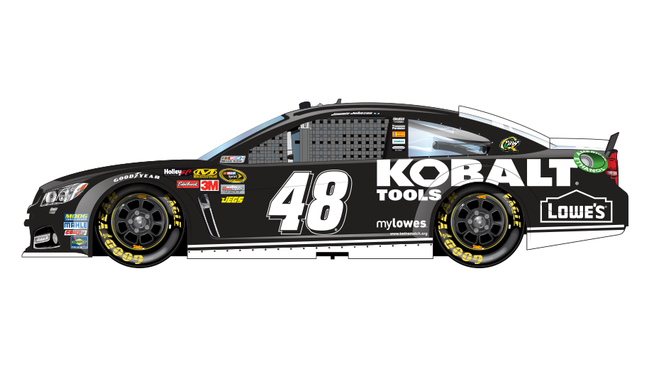 Nascar vector side view