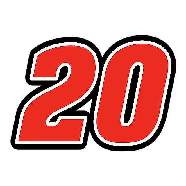 Nascar numbers png. Number red font